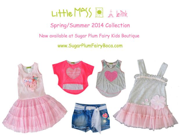 Little Mass Girls Designer Clothing Spring/Summer 2014